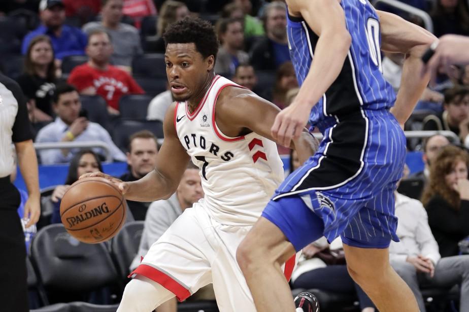 Kyle Lowry a obtenu 25 points et les Raptors de Toronto ont vaincu... (PHOTO AP)