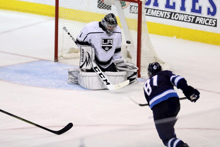 Kyle Connor a signé deux buts et les Jets de Winnipeg ont récolté... (PHOTO PC)