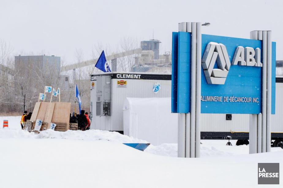 Le lock-out actuel à l'Aluminerie de Bécancour a... (Photo Alain Roberge, Archives La Presse)