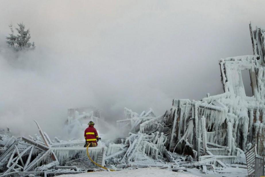 Trente-deux personnes ont péri dans un incendie à... (Photo Ivanoh Demers, Archives La Presse)