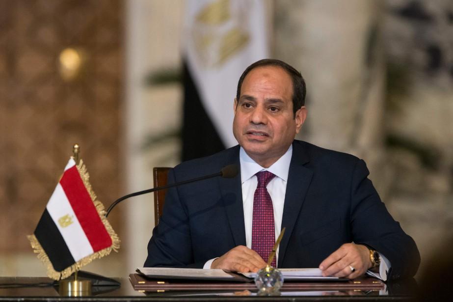 Le président égyptien Abdel Fattah Al-Sissi... (PHOTO Alexander ZEMLIANICHENKO, ARCHIVES AFP)