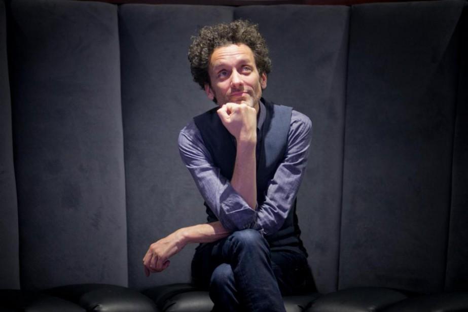 L'humoriste AndréSauvé s'apprête à présenter son troisième spectacle... (Photo François Roy, La Presse)