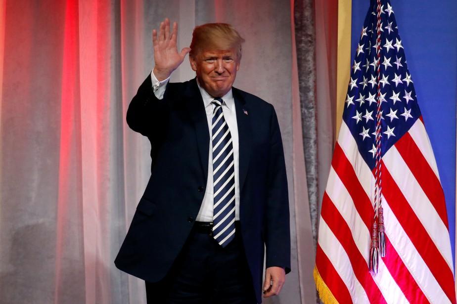 Donald Trump... (Photo Leah Mills, Reuters)