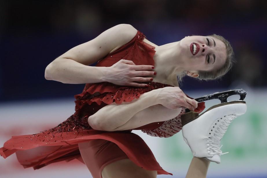 Carolina Kostner... (Photo Luca Bruno, AP)