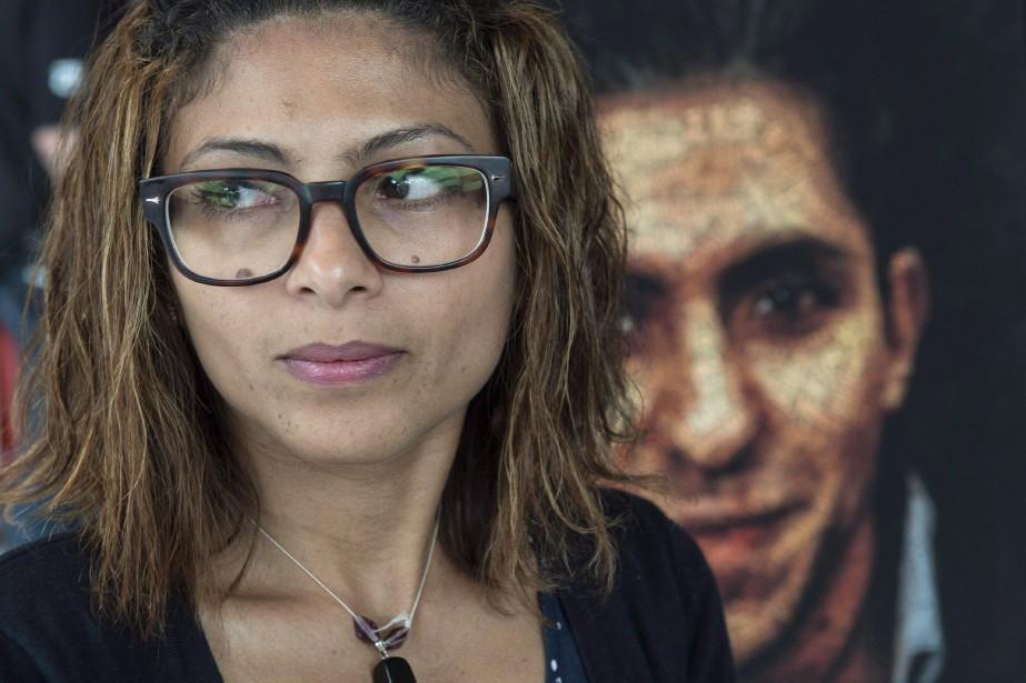 Ensaf Haidar, épouse de Raif Badawi.... (ARCHIVES PC)