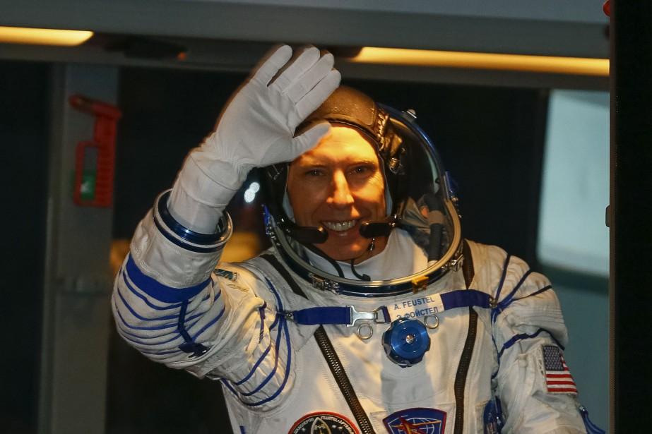 Andrew Feustel en est à son troisième périple... (Photo Shamil Zhumatov, Agence France-Presse)