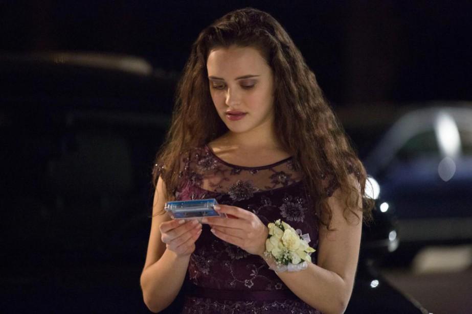 Katherine Langford incarne Hannah Baker dans la série... (PHOTO BETH DUBBER, FOURNIE PAR LA PRODUCTION)