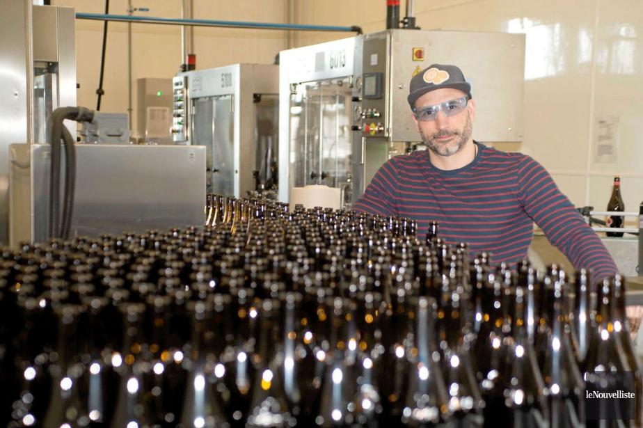 Isaac Tremblay, responsable du développement des affaires au... (Photo Sylvain Mayer, Le Nouvelliste)