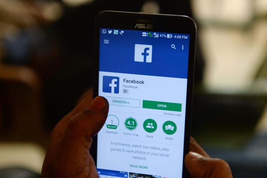 Facebook est pris dans la tempête depuis que... (Photo Arun Sankar, Agence France-Presse)