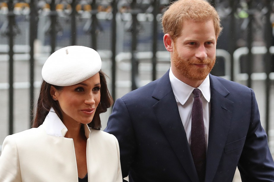 Meghan Markle et le prince Harry.... (Photo Daniel Leal-Olivas, Agence France-Presse)