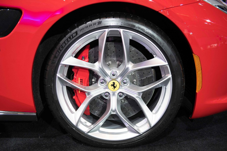 Ferrari Portofino (AFP)