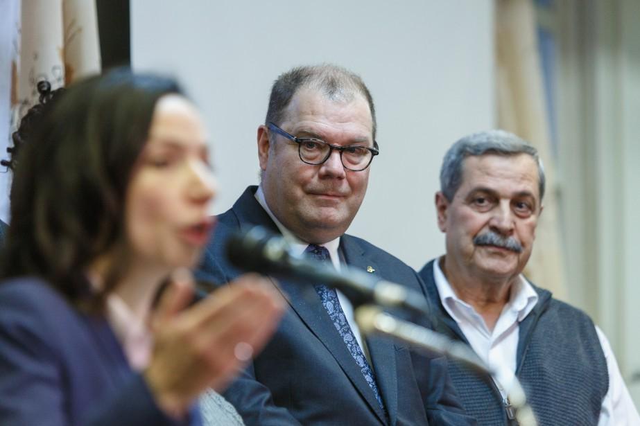 La chef bloquiste Martine Ouellet a annoncé lundi... (PHOTO ULYSSE LEMERISE, COLLABORATION SPECIALE)