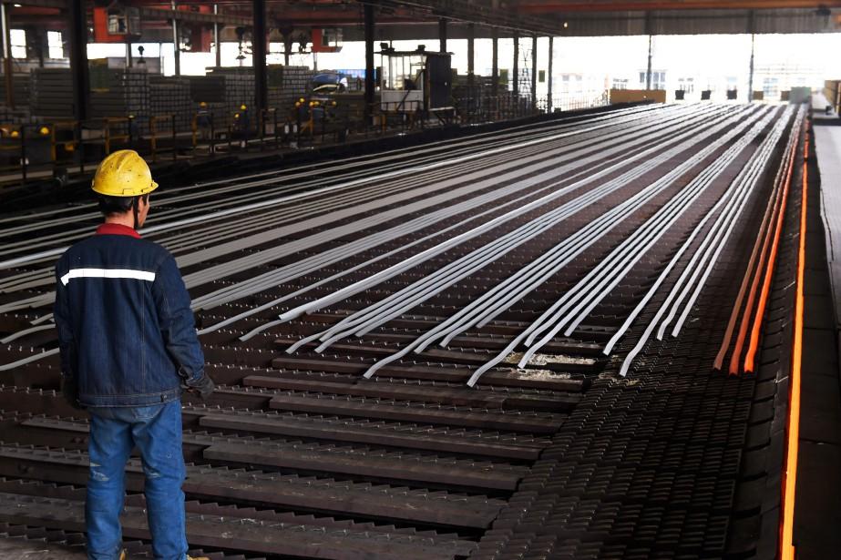 «Les taxes sur les importations d'acier et d'aluminium... (Photo AFP)