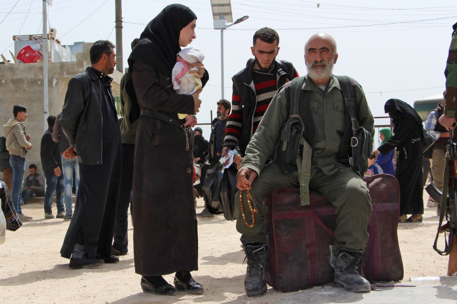 L'offensive gouvernementale dans la Ghouta a fait plus... (Photo Ibrahim Yasouf, Agence France-Presse)