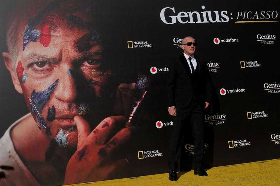 Antonio Banderas à la première de Genius: Picasso... (Photo reuters)
