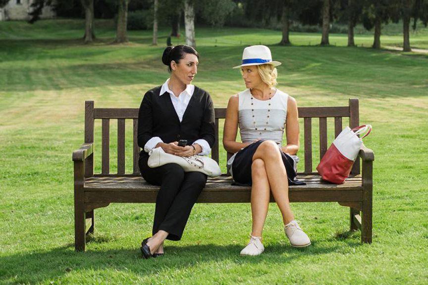 Rossy de Palma et Toni Collette dans Madame... (Crédit:LGM Productions.)