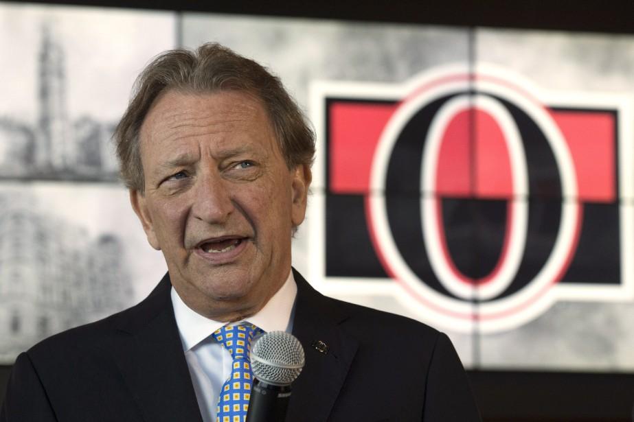 Le propriétaire des Sénateurs d'Ottawa, Eugene Melnyk.... (Photo Adrian Wyld, archives PC)