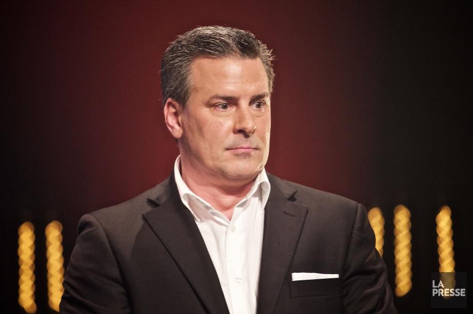 Stéphane Langdeau était à la barre de l'émission... (Photo André Pichette, archives La Presse)