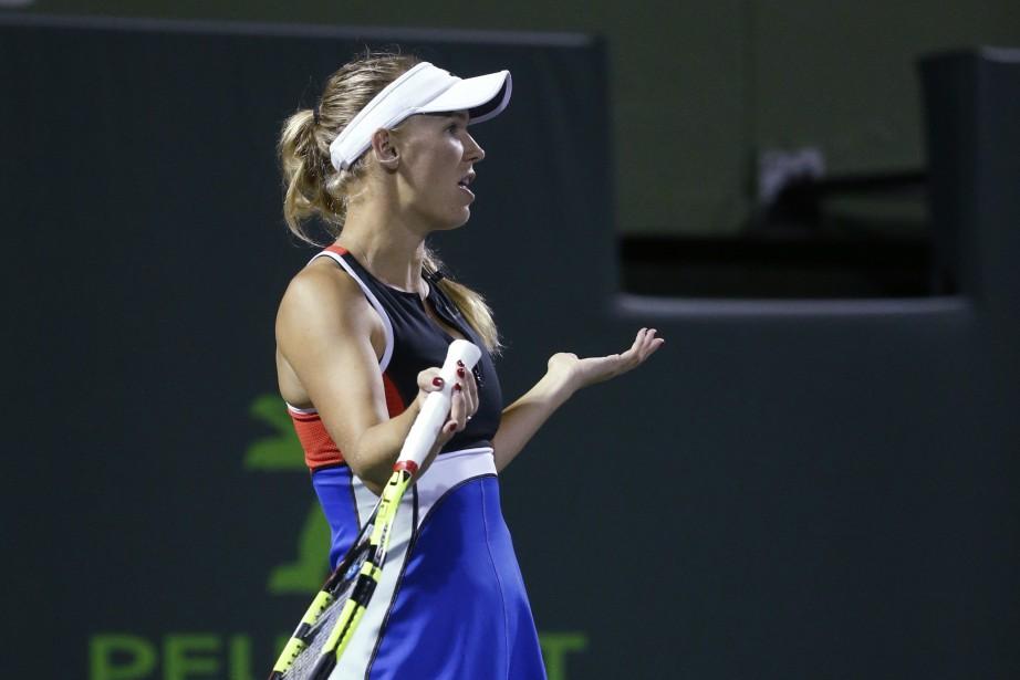 Caroline Wozniacki... (Photo Wilfredo Lee, AP)
