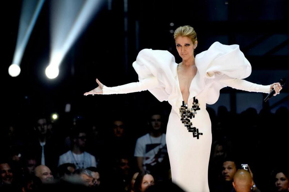 Céline Dion lors de sa prestation aux Billboard... (Photo archives Associated Press)