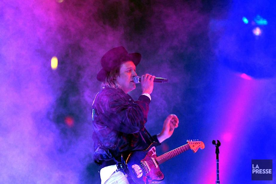 Win Butler est marié à la musicienne et... (PHOTO BERNARD BRAULT, ARCHIVES LA PRESSE)