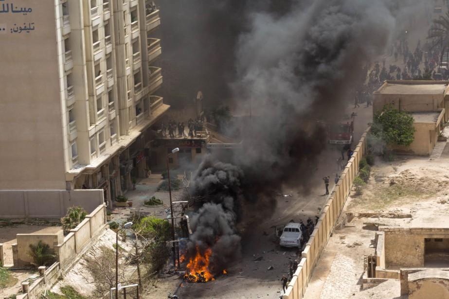 L'attentat de samedi n'a pas été revendiqué.... (AFP)
