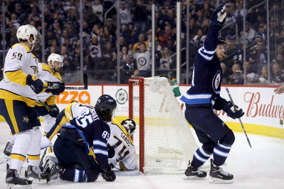 Les Jets de Winnipeg se sont taillé une place en séries... (PHOTO PC)