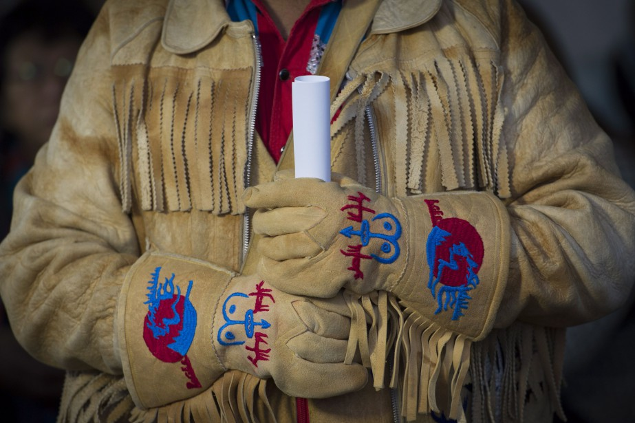 La nation Tsilhqot'in prétend depuis longtemps que le... (Photo Jonathan Hayward, Archives La Presse canadienne)