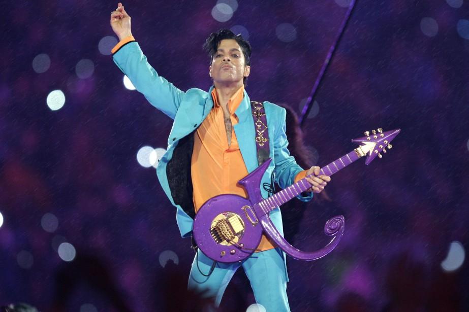 Prince, âgé de 57 ans, a été retrouvé... (ARCHIVES AP)