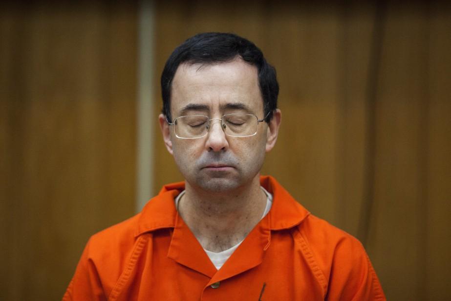 Larry Nassar a été condamné fin janvier et... (PHOTO archives AP)