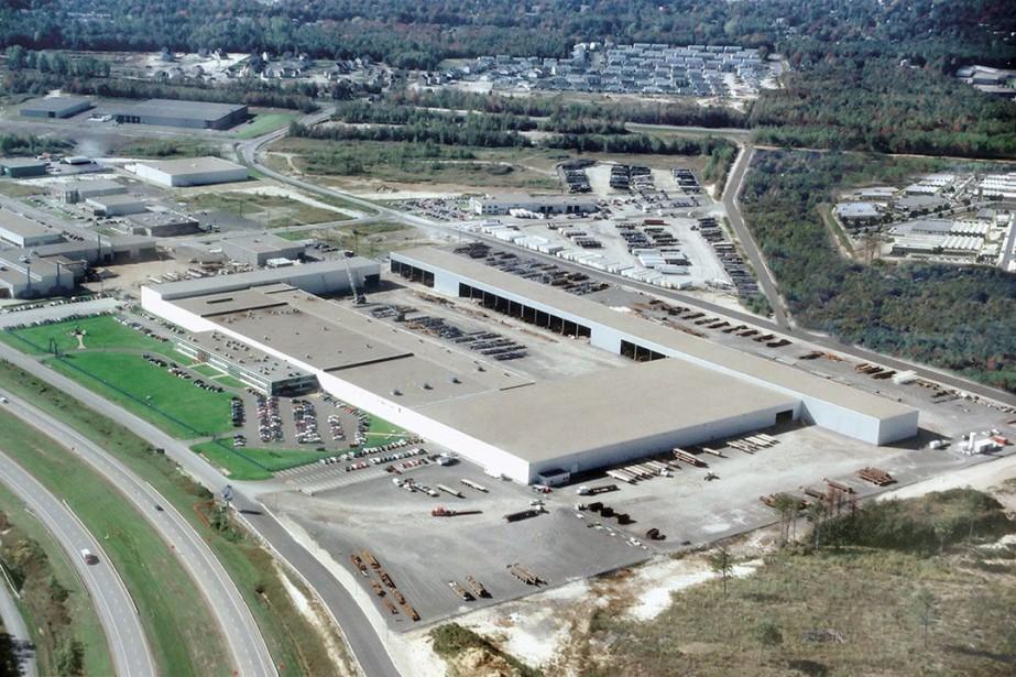 L'usine de Groupe ADF à Terrebonne.... (Photo fournie par Groupe ADF)
