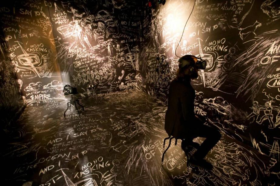 Chalkroom... (Photo François Roy, La Presse)
