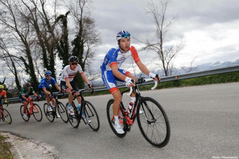 Antoine Duchesne a connu un début de saison... (Photo tirée de Facebook)