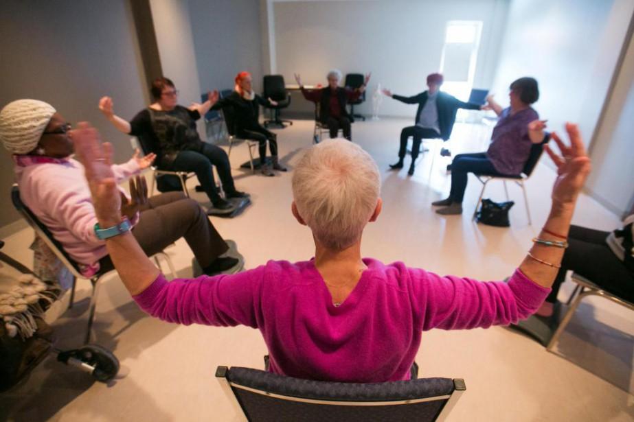 Le yoga est tout indiqué pour aider à... (Photo François Roy, La Presse)