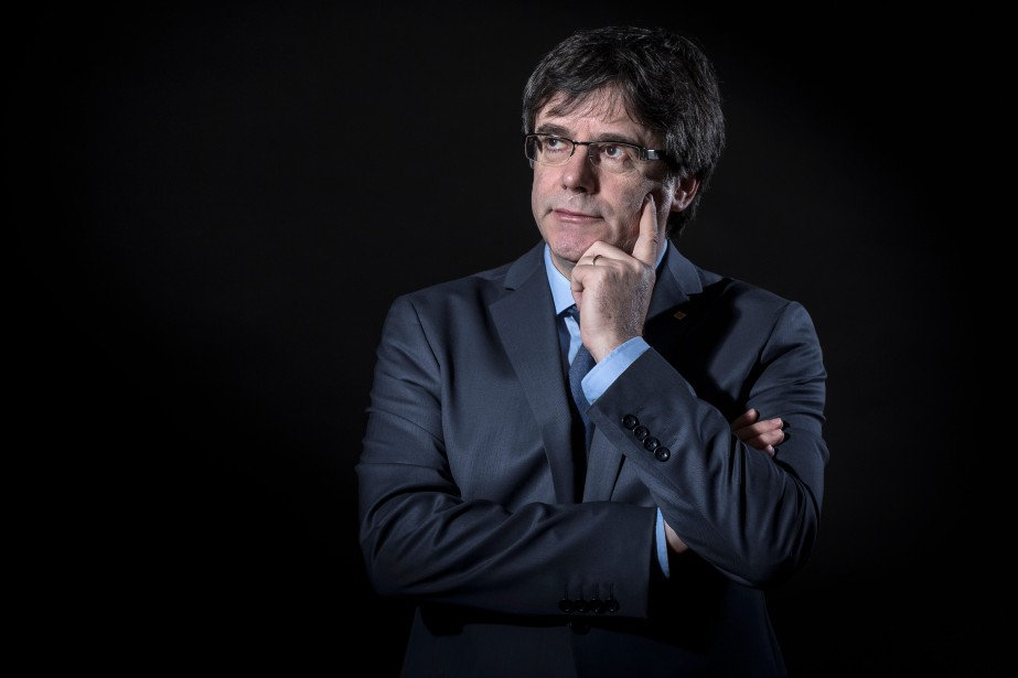 Carles Puigdemont... (Photo Emmanuel Dunand, archives Agence France-Presse)