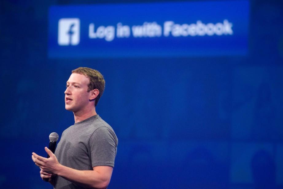 Le patron de Facebook Mark Zuckerberg... (PHOTO Josh Edelson, ARCHIVES AFP)