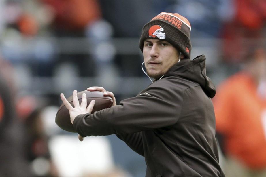 Les Browns de Cleveland ont libéré Johnny Manziel... (Photo Scott Eklund, archives Associated Press)