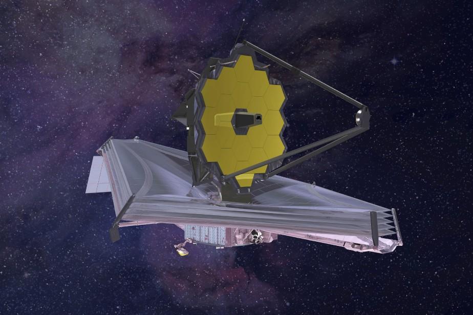 Ce qu'aura l'air le télescope James Webb.... (Photo archives Northrop Grumman, NASA via Associated Press)
