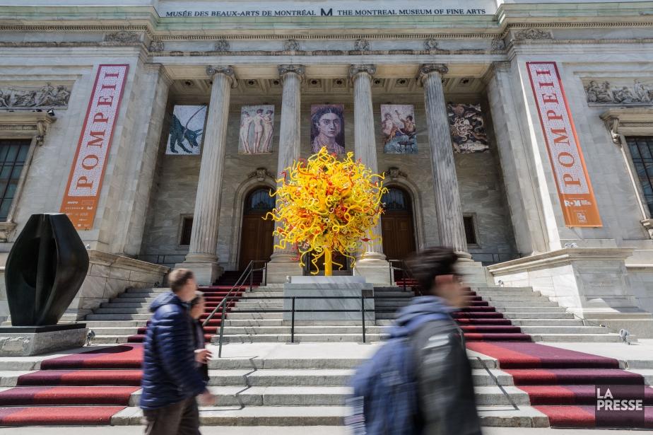 Le Musée des beaux-arts de Montréal... (PHOTO EDOUARD PLANTE-FRÉCHETTE, LA PRESSE)