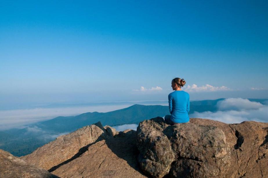 Le sentier de l'Appalachian Trail s'étend sur plus... (Photo Marie-Soleil Desautels, La Presse)