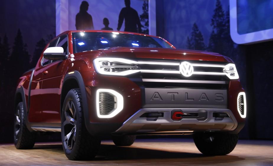 Le prototype de pickup Atlas Tanoak | 28 mars 2018