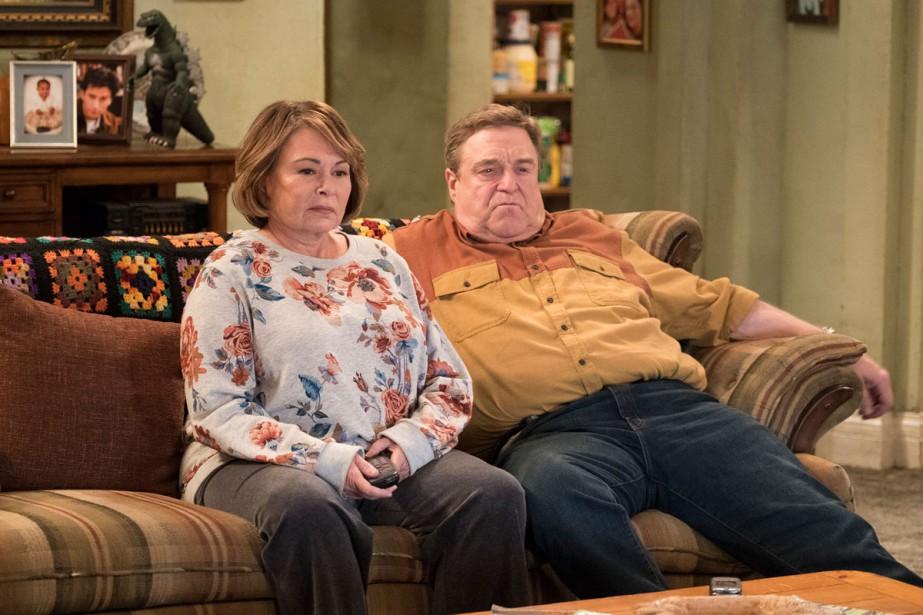 Roseanne Barr et John Goodman dans une scène... (Photo AP)