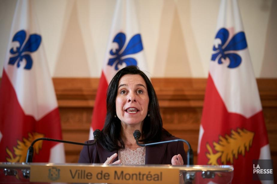 La mairesse de Montréal, Valérie Plante.... (Photo André Pichette, La Presse)