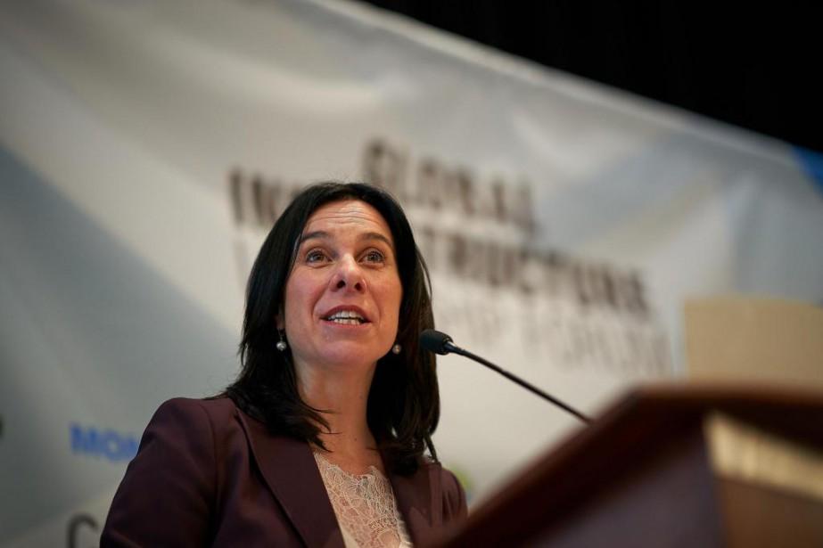 La mairesse de Montréal, Valérie Plante, a prononcé... (PHOTO ANDRÉ PICHETTE, LA PRESSE)