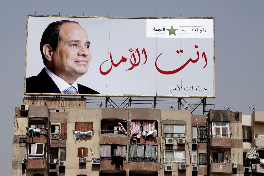 Selon le quotidien d'ÉtatAl-Ahram, M. Sissi a obtenu... (AP)