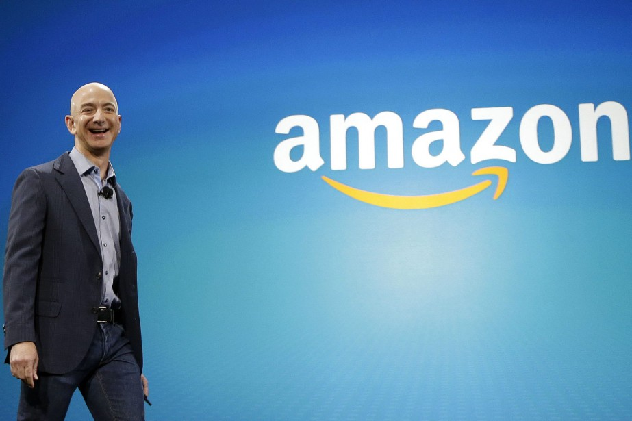 Jeff Bezos, PDG d'Amazon... (Photo Ted S. Warren, archives Associated Press)