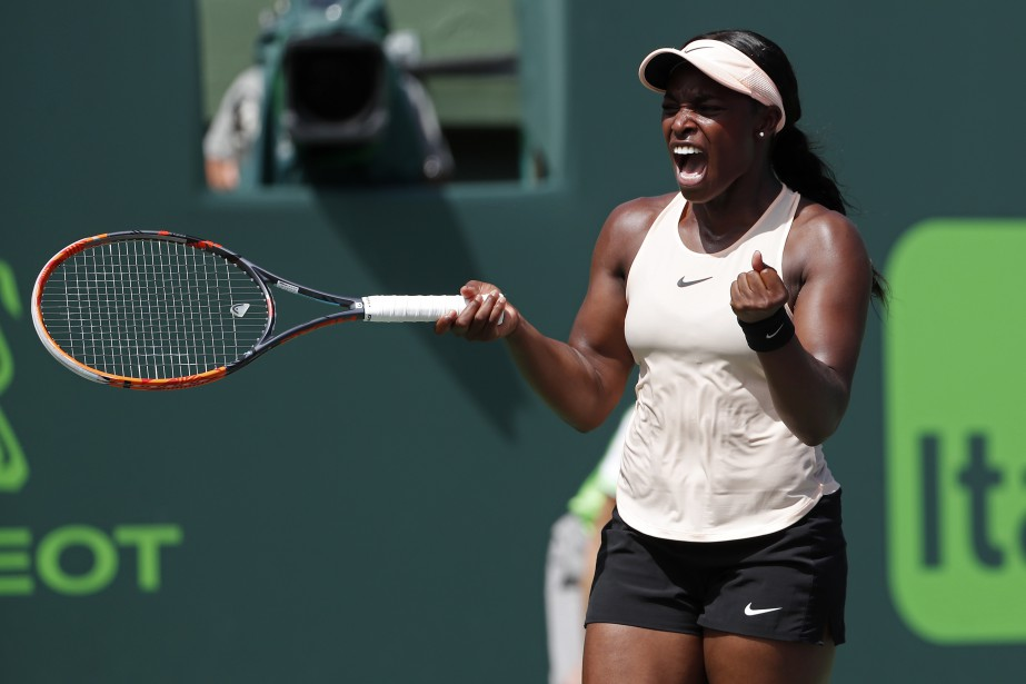 Sloane Stephens... (Photo Geoff Burke, USA Today Sports)