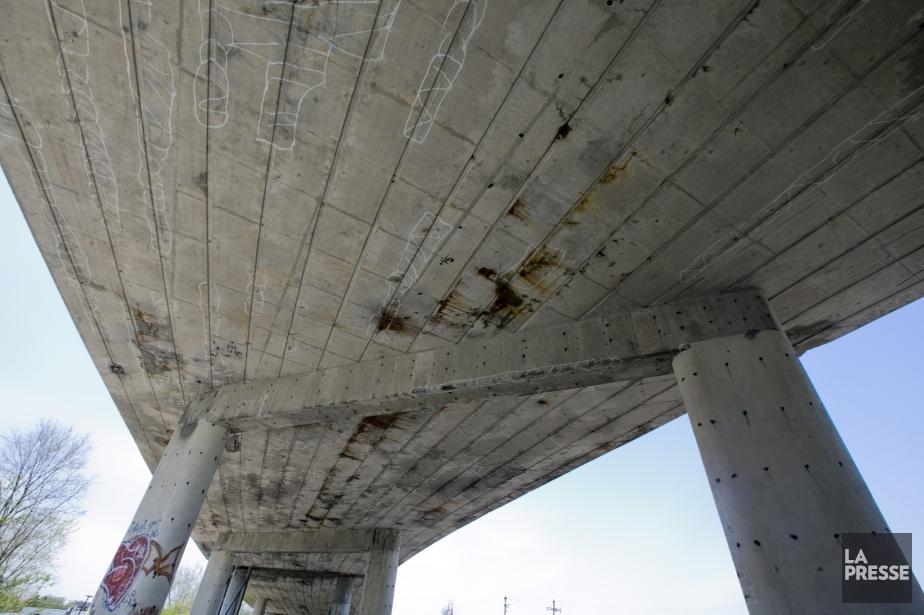 Selon des données du Plan québécois des infrastructures,... (PHOTO DAVID BOILY, archives LA PRESSE)