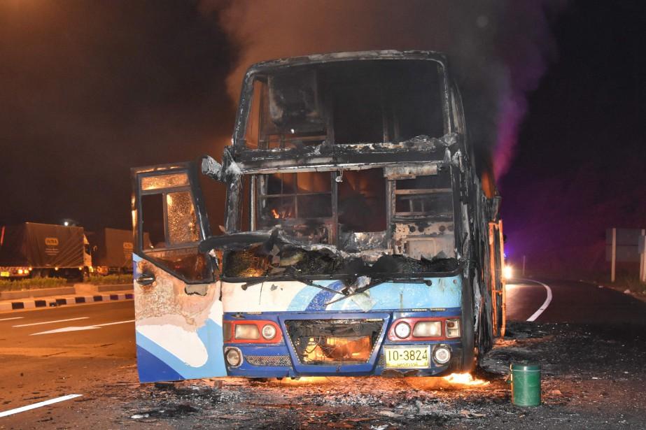 Les causes de l'incendie, qui s'est déclaré alors... (PHOTO AFP/DAILYNEWS)