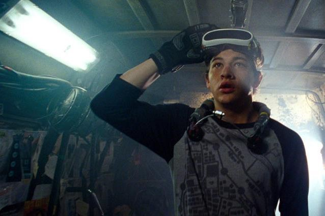 Tye Sheridan dans Ready Player One, film de... (Photo fournie par Warner)
